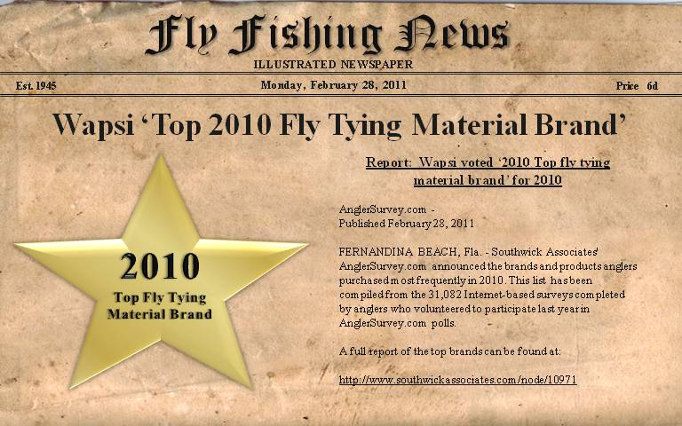 2010 Top Fly Tying Material Brand