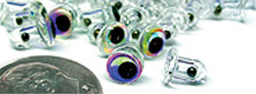 Micro Eyeball Rattles