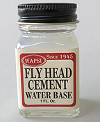 Wapsi Water Based Fly Head Cement